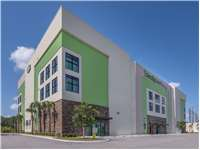 Image of Extra Space Self Storage Facility on 1520 Belvedere Rd in West Palm Beach, FL