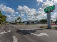 Image of Extra Space Self Storage Facility on 270 Malabar Rd SW in Palm Bay, FL
