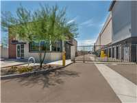 Image of Extra Space Self Storage Facility on 5225 E Van Buren St in Phoenix, AZ