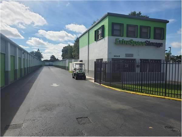 Image of Extra Space Storage Facility on 9848 Coral Way in Miami, FL