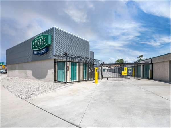 Entry To Extra Space Storage Facility Near Garvey Ave In Baldwin Park, CA  ...