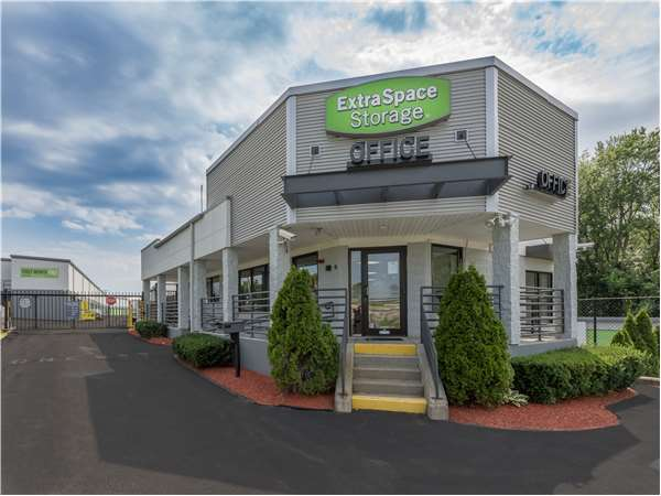 Image of Extra Space Storage Facility on 90 Taunton St in Plainville, MA