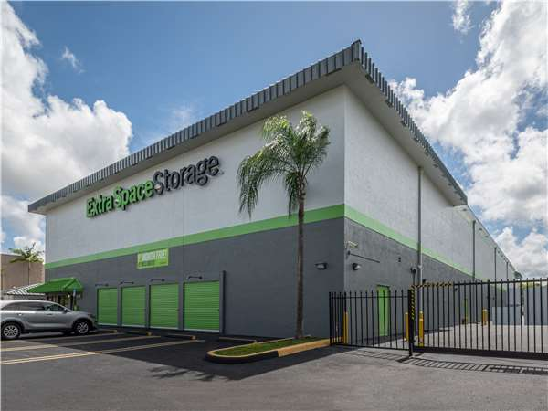 Image Of Extra Space Storage Facility On 9015 SW 127th Ave In Miami, FL