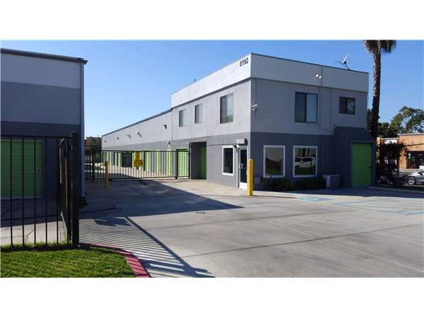 Image of Extra Space Storage Facility on 8192 Miramar Rd in San Diego, CA