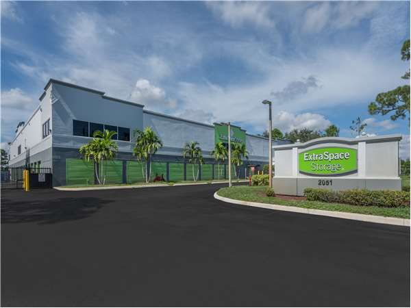 Image of Extra Space Storage Facility on 2051 S Military Trail in West Palm Beach, FL