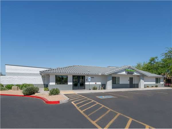Image of Extra Space Storage Facility on 11990 N 75th Ave in Peoria, AZ