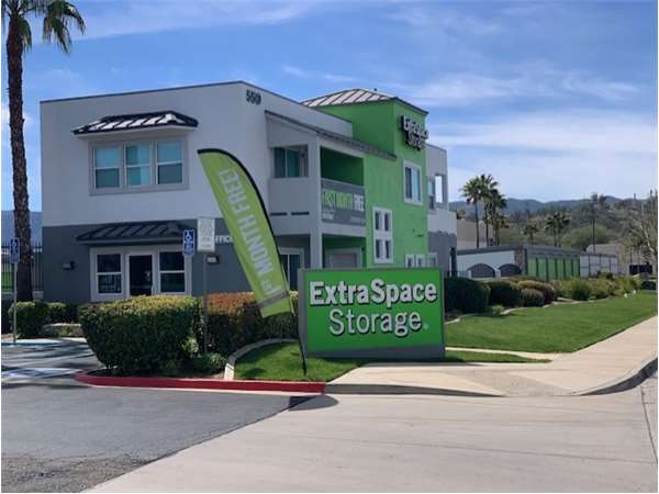 Image of Extra Space Storage Facility on 550 Central Ave in Lake Elsinore, CA