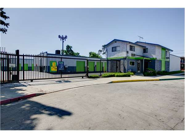 Entry To Extra Space Storage Facility Near E Artesia Blvd In Long Beach, CA  ...