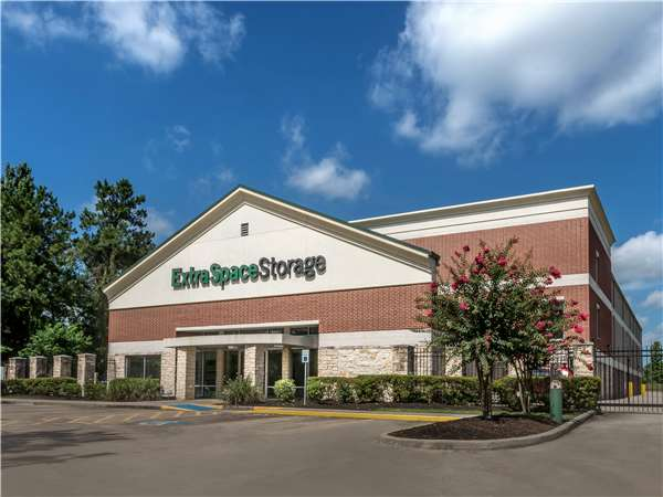 Image of Extra Space Storage Facility on 12190 W Branch Crossing Dr in The Woodlands, TX