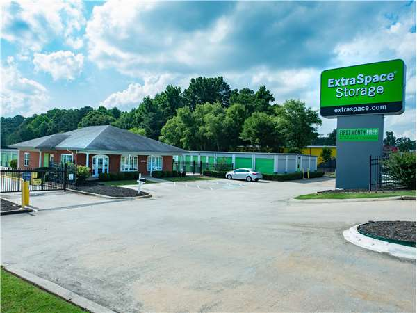 Image of Extra Space Storage Facility on 8337 Tara Blvd in Jonesboro, GA