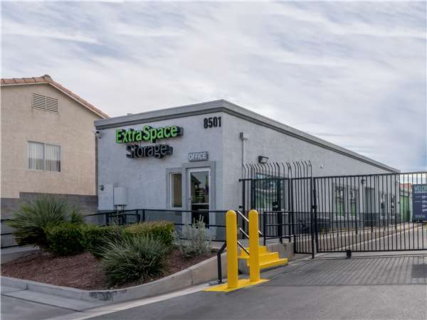 Image Of Extra Space Storage Facility On 8501 W Charleston Blvd In Las Vegas,  NV