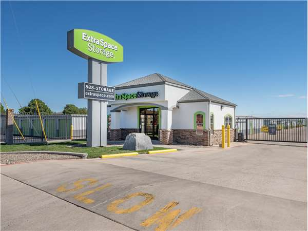 Image of Extra Space Storage Facility on 5306 N Grandview Ave in Odessa, TX