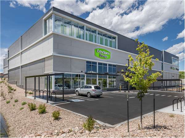 Image of Extra Space Storage Facility on 9300 W Colfax Ave in Lakewood, CO
