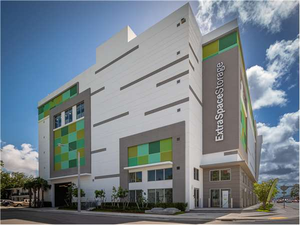 Image of Extra Space Storage Facility on 7865 NE 10th Ave in Miami, FL