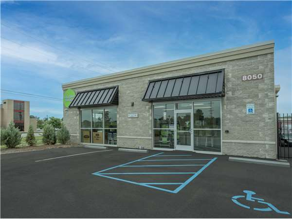 Image of Extra Space Storage Facility on 8050 Ortho Ln in Brownsburg, IN