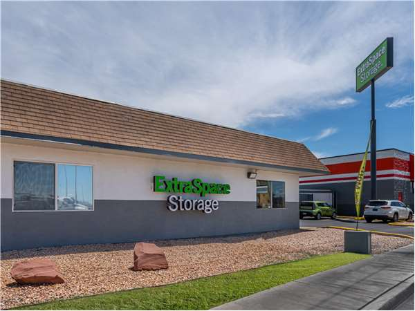 Image of Extra Space Storage Facility on 2824 E Evans Ave in North Las Vegas, NV
