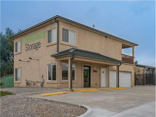 Image of Extra Space Storage Facility on 1950 Delta Dr in Colorado Springs, CO