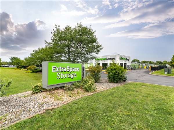 Image of Extra Space Storage Facility on 8040 Georgetown Rd in Indianapolis, IN