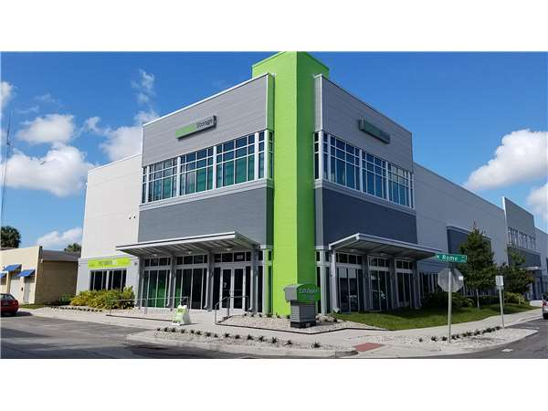 Image of Extra Space Storage Facility on 808 N Rome Ave in Tampa, FL