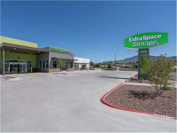 Image of Extra Space Storage Facility on 135 N Resler Dr in El Paso, TX
