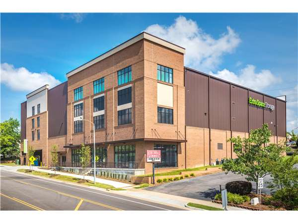 Image of Extra Space Storage Facility on 410 W South St in Raleigh, NC